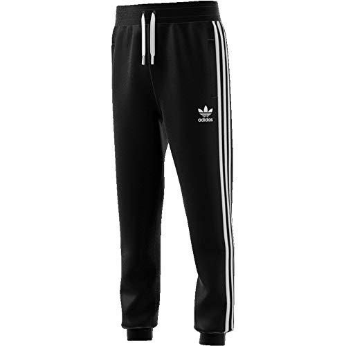 adidas Kinder Trainingshose Trefoil, Black/White, 152, DV2872