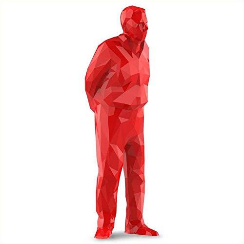 Superstuff umarell- omino Che Ti Guarda Mentre lavori Rosso