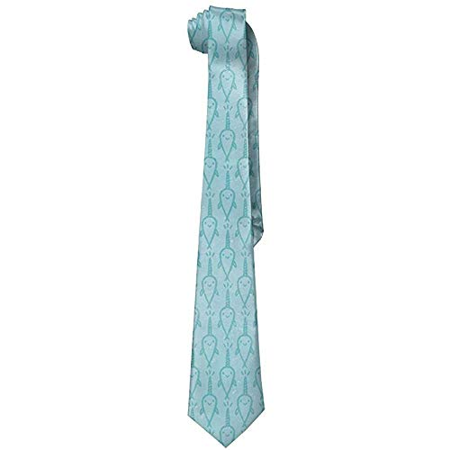 Hombres Retro lindo Narval Poliéster Seda Casual Caballero Corbata Corbata Regalo-Talla única