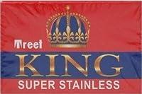 Treet King 両刃替刃 10枚入り(10枚入り1 個セット)【並行輸入品】
