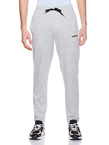 Medium Grey Heather//Black//Mgh Solid Grey S Adidas E PLN T Pnt Sj Pantalones de Deporte Hombre