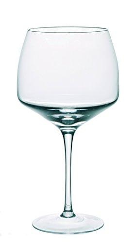 Dkristal Venecia Copa Combinados, 0.9 L, Cristal, 9x9x23 cm, 6 Unidade