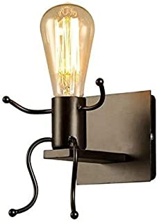 IJzeren Wandlampen Creatieve Afgestudeerde Individuele Mensen Wandlampen Slaapkamer Woonkamer Moderne Wandlampen Verlichti...