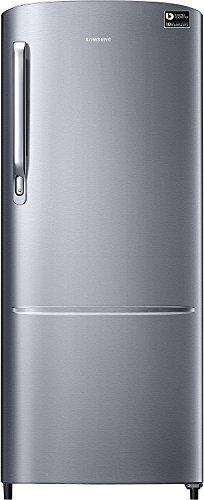 Samsung 212 L 3 Star Direct Cool Single Door Refrigerator(RR22M272ZS8, Elegant Inox, Inverter Compressor)