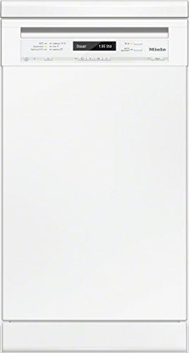 Miele G4800 SC D BW230 2,1 Geschirrspüler/A++ / 197 kWh/Jahr / 9 MGD / 2436 Liter/Jahr/Frischwasserspüler ab 6,5 Liter Wasserverbrauch/ExtraLeise mit nur 40dB / brillantweiß