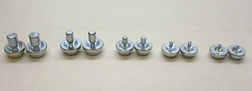Wholesale Double Flaring Tool Replacement Dies 10 Pieces 2 of Each Size