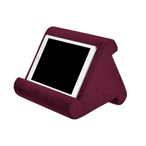 Kissenständer für Tablet Buchstütze Lesekissen für Zuhause Bett Sofa Multi-Winkel Weiches Kissen Schoß-Ständer Kissen Couch Kissen Ständer eReader
