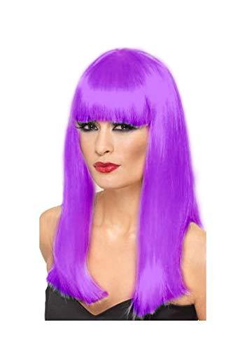 comprar pelucas moradas largas en internet