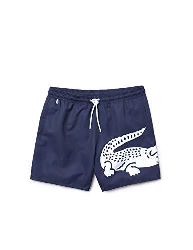 Lacoste Herren Mh6281 Shorts, Blau (Marine 166), X-Large