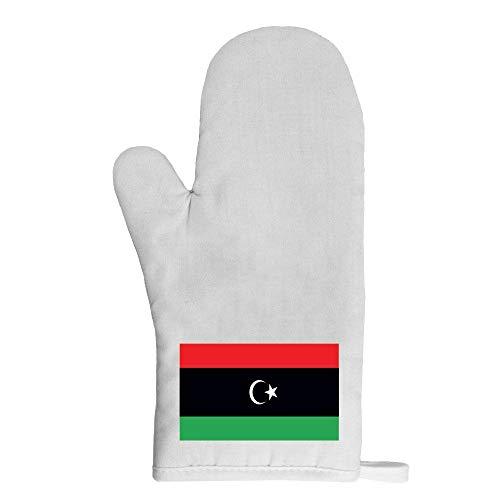 Mygoodprice Ofenhandschuh Topflappen Flagge Libyen