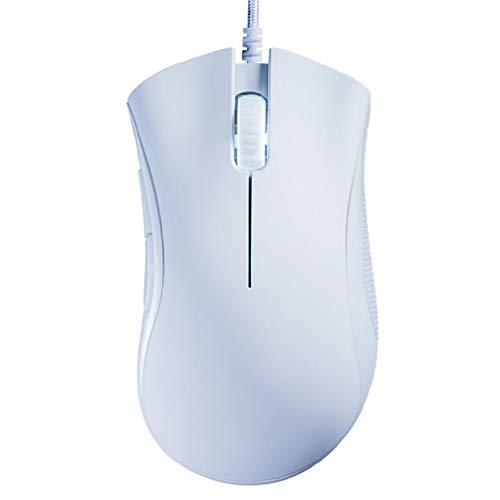Ratón para juegos con cable 6400 DPI Sensor óptico 5 botones para...