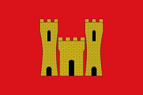 magFlags Bandera Large Vilanova d Alcolea Valencian Community, Spain | Bandera Paisaje | 1.35m² | 90x150cm