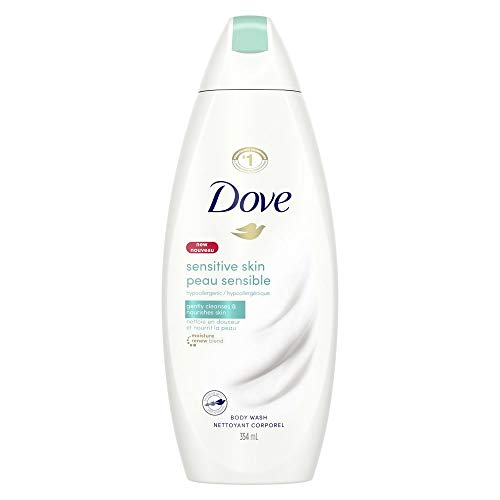 Dove Sensitive Skin Nourishing Body Wash Unscented with NutriumMoisture 354 ml (Duschgels)