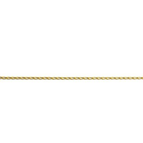 MAG - ketting van 18 karaat goud Bilbao 60 cm lang 3 mm breed