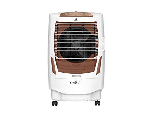 Havells Celia I Desert Air Cooler - 55 Litres (White, Brown)