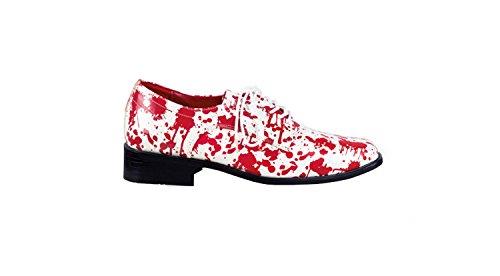 Boland - Schuhe in Rot / Weiß, Größe 41