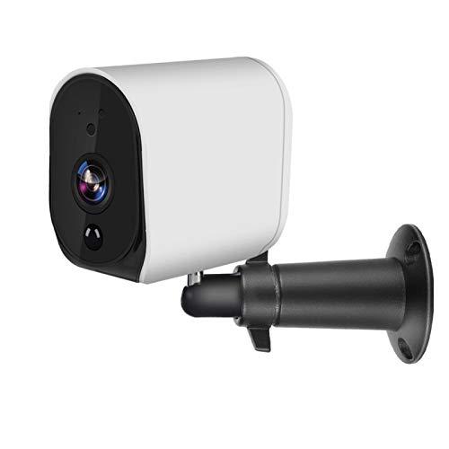 DAUERHAFT Cámara IP WiFi de Espera ultralarga de Audio bidireccional Cámara IP con batería de protección Impermeable 1080P para Alexa Google HomeSistemas de Voz Inteligentes IR-Cut HD