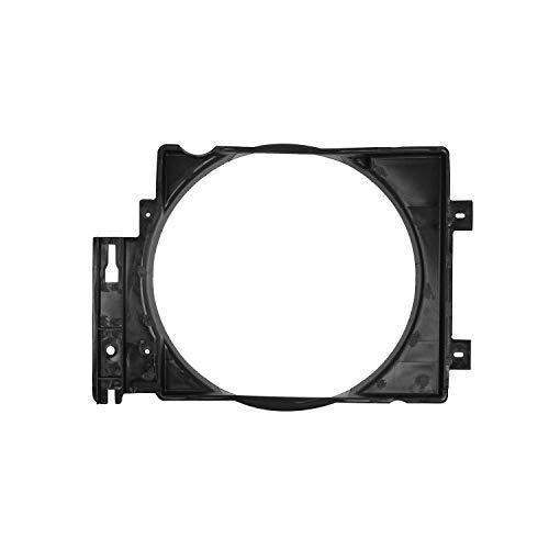 Hooke Road Cubierta de ventilador de refrigeración para radiador compatible con Jeep Wrangler TJ 4.0L I6 Motor 97-06