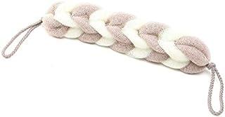 ICOUCHI ボディースポンジ 背中も洗えるシャボン ボディウォッシュ シャワースポンジ 柔らかい泡立てネット ストラップ付き 棒型