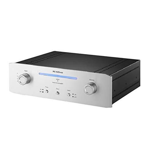 Reisong BOYUU Q6 Preamplificatore 12AX7 Amplificatore valvolare HiFi 6Z4 Stereo Home Audio Amplificatore valvolare Versione aggiornata del regolatore