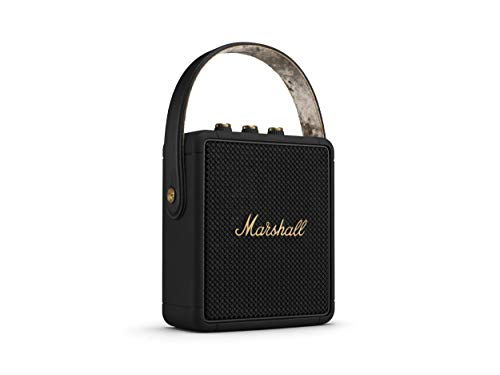 Marshall Stockwell II Bluetooth Altavoz, Black & Brass (Exclusivo a Amazon)
