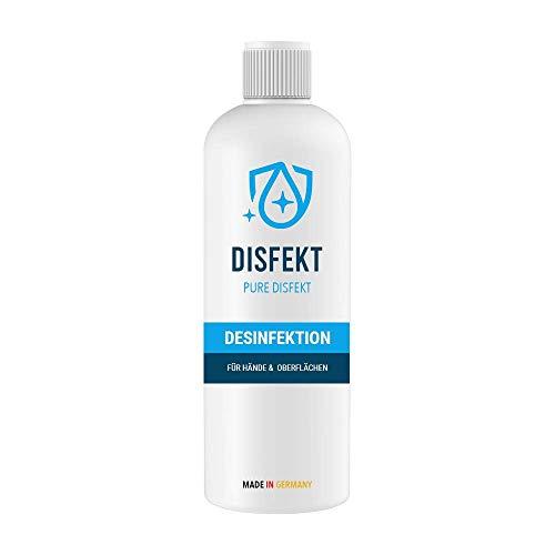 2x 500ml PURE DISFEKT - Desinfektionsmittel für Hände und Flächen - Schützen Sie Ihre Hände vor Viren und Bakterien I Made in Germany
