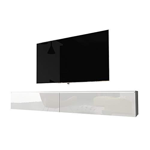 Selsey Kane - Mueble TV Flotante/Mesa TV/Mueble para Salón/Mueble TV Suspendido (180...