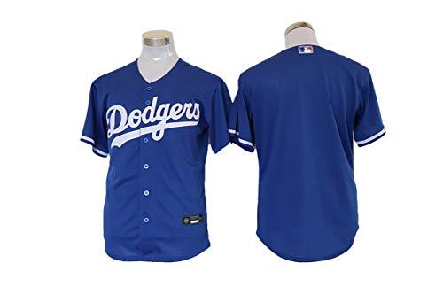 TIEON Baseballuniformen für Männer und Frauen, Dodgers Baseballuniformen, Nr. 35 Behringer Baseballuniformen, Spieleruniformen 3XL C