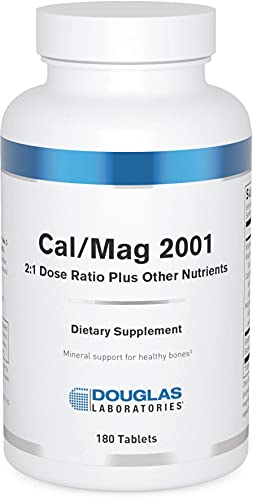 Douglas Laboratories - Cal/Mag 2001 (Calcium Two to One) - with Magnesium and Other Nutrients to Support Healthy Bone Structure - 180 Tablets