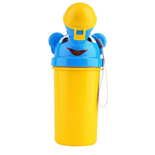 Dailyinshop Portable Baby Travel Urinal Car Toilet Outdoor Camping Boy Girl Kid Potty Vehicular Training Traveling Urination Tools,Yellow