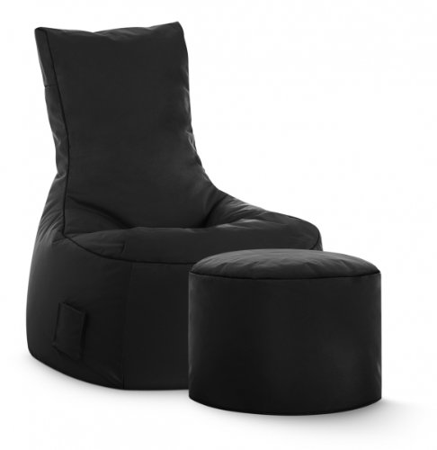 SITTING POINT only by MAGMA Sitzsack-Set Scuba Swing + Hocker schwarz