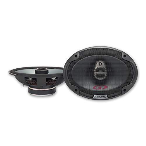 Alpine Electronics 6 x 9 Coaxial 3-Way Speaker, SPG-69C3