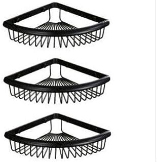 YFG Uyngfjk Fournitures de Salle de Bain Toilette-Salle de Bain Pendentif de Salle de Bain Panier Triangulaire en cuivre, ...