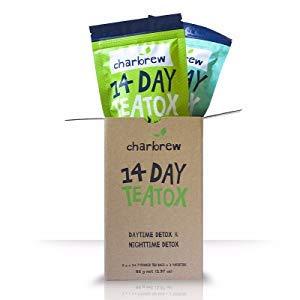 Charbrew's Tea Detox Duo Pack (Tag und Nacht) 2 x 14 Tage