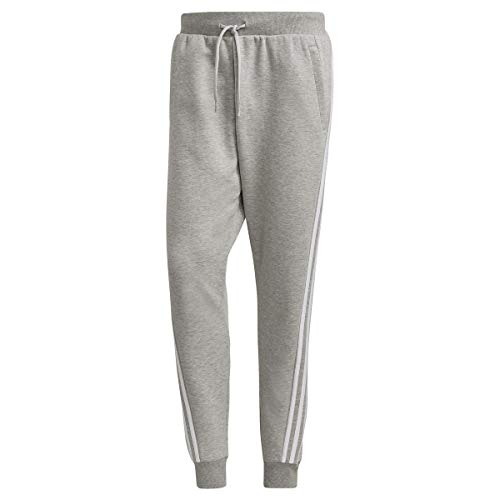 adidas M Fi Pant 3S, Pantaloni della Tuta Uomo, Media Grigio Melange, M