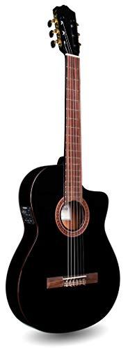 Cordoba C5-CETBK Thinbody Acoustic Electric Nylon String Classical Guitar