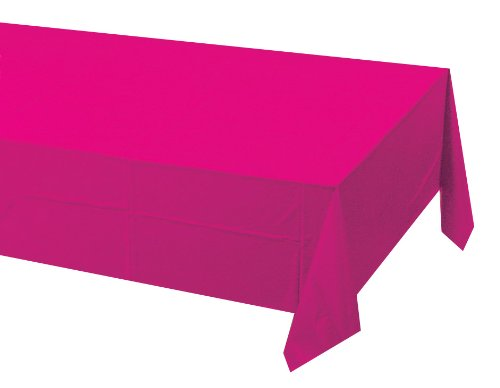 hot pink table cover - 8