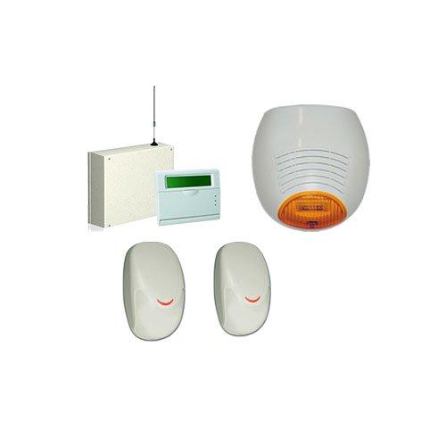 kit antifurto casa allarme filare AMC C24GSM plus