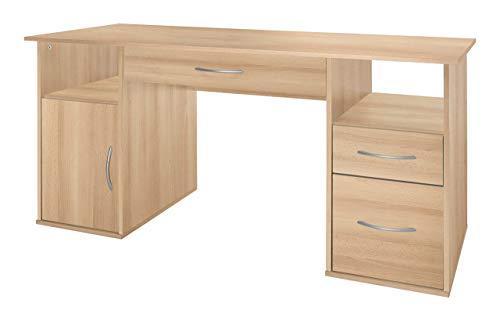 WILMES Schreibtisch, Buche Dekor, 60x145x72.5 cm