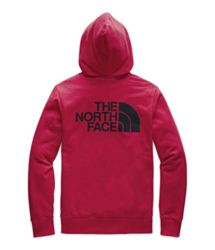 The North Face Men's Half Dome Full Zip Hoodie, TNF Red/TNF Black, M