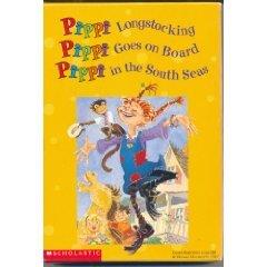 Pippi Longstocking, Pippi Goes On Board, Pippi in the South Seas