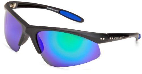 Eyelevel - Crossfire 1, Occhiali da sole da uomo, nero(blue), taglia produttore: one size