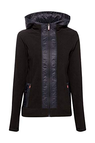 ESPRIT Sports Fleece-Jacke mit Nylon-Details