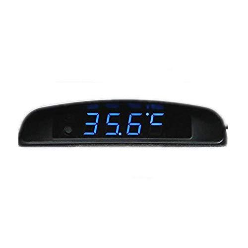 Boomboost 4In1 Coche Fecha Reloj Voltímetro Termómetro Monitor de Voltaje 12V Original Car Interior Exterior Multifunción