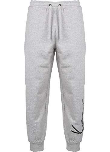 Karl Kani Signature Retro Pantalón de Deporte Grey/Black