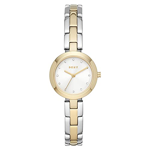 DKNY Damen-Uhren Analog Quarz One Size Gold 32015116