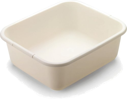 Rubbermaid 2951-AR BISQUE 11.4 QT Bisque Dish Pan (2-Pack)