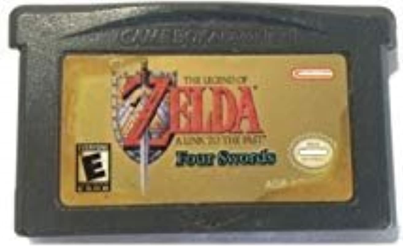 The Legend of Zelda: A Link to the Past 4 Swords - Game Boy Advance (GBA) - Compatible model NINTENDO - 32 bit Video Game Cartridge Console Card - US Version