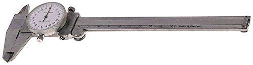 Messschieber Anzeige Rundskala CNS Messbereich 0-150mm 0,05mm DIN 862 Anzeige Rundskala 862 Messgenauigkeit 0,05mm