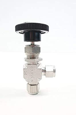 WHITEY SS-1VS6-A Manual Stainless Needle Valve 3/8IN Tube from WHITEY